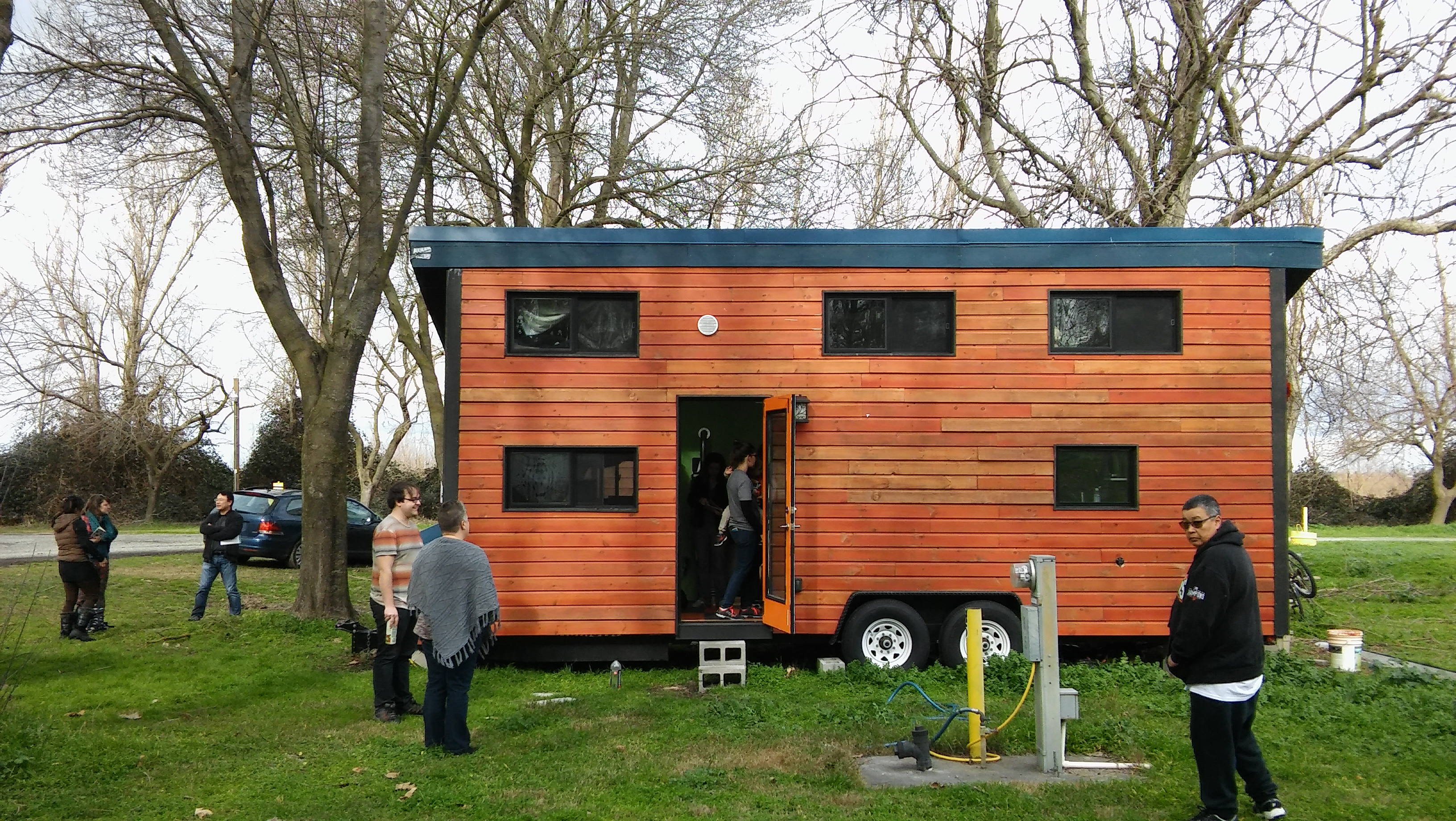 We are featured in a Sacramento Bee article: Tiny homes yield bigger  problem: Where to put them?